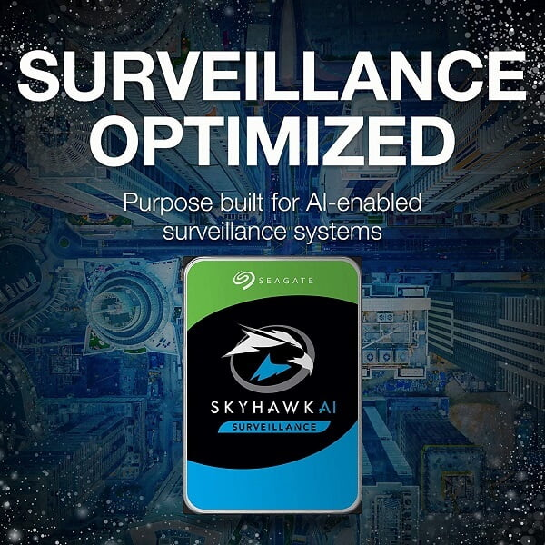 Ổ cứng HDD Seagate SkyHawk AI 10TB 3.5 inch SATA iii ST10000VE0008 2