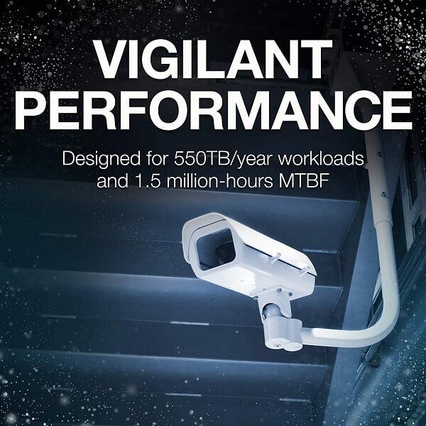 Ổ cứng HDD Seagate SkyHawk AI 16TB 3.5 inch SATA iii ST16000VE000 2