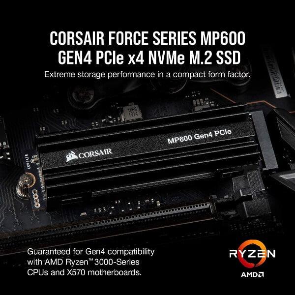 Ổ cứng SSD Corsair MP600 500GB M2 2280 PCIe GEN 4×4 NVMe CSSD-F500GBMP600 4