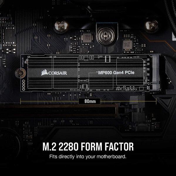 Ổ cứng SSD Corsair MP600 500GB M2 2280 PCIe GEN 4×4 NVMe CSSD-F500GBMP600 5