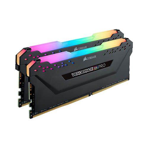RAM Desktop DDR4 Corsair Vengeance RGB PRO 16GB (2x8GB) Bus 3000 CMW8GX4M1D3000C16 2