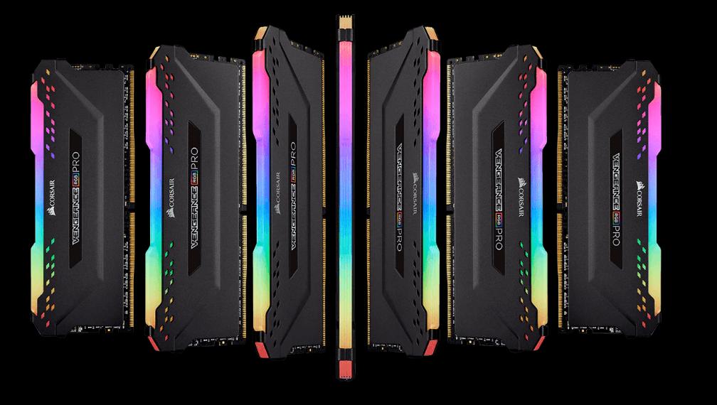 RAM Desktop DDR4 Corsair Vengeance RGB PRO 8GB Bus 3000 CMW8GX4M1D3000C16 4