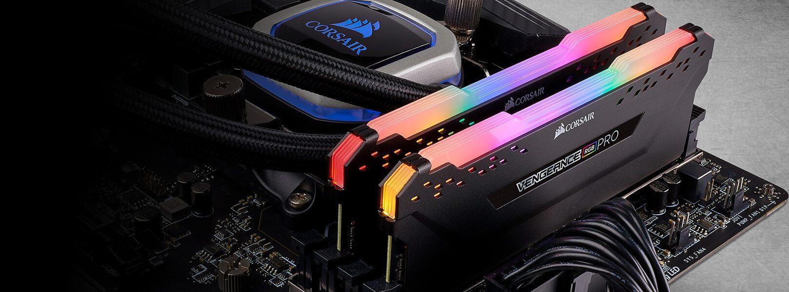 RAM Desktop DDR4 Corsair Vengeance RGB PRO 8GB Bus 3000 CMW8GX4M1D3000C16 6