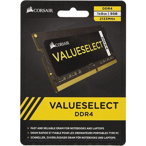 RAM Laptop DDR4 Corsair 8GB Bus 2133 SODIMM CMSO8GX4M1A2133C15 2