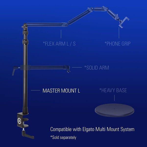 Thiết bị Stream Elgato Multi Mount 10AAB9901 5
