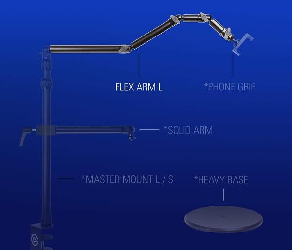 Thiết bị stream Elgato Flex Arm Kit 10AAC9901 4