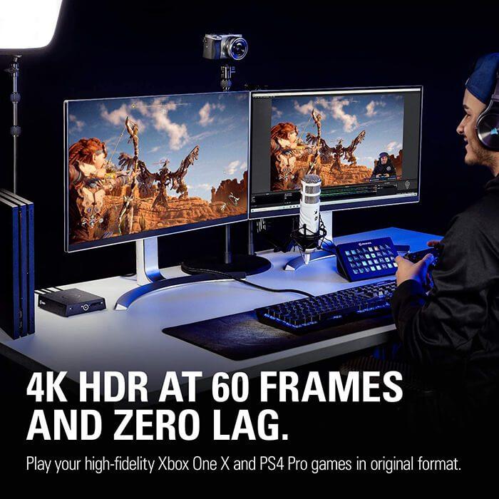 Thiết bị stream game capture 4k60 s 4