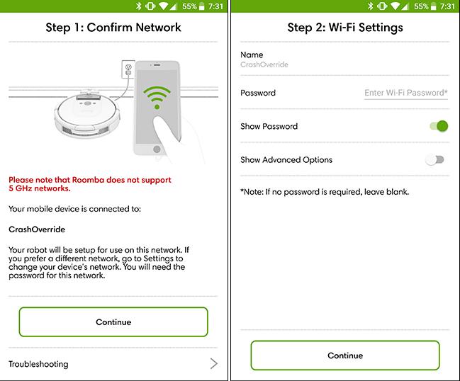 Cách kết nối wifi irobot roomba hình 7
