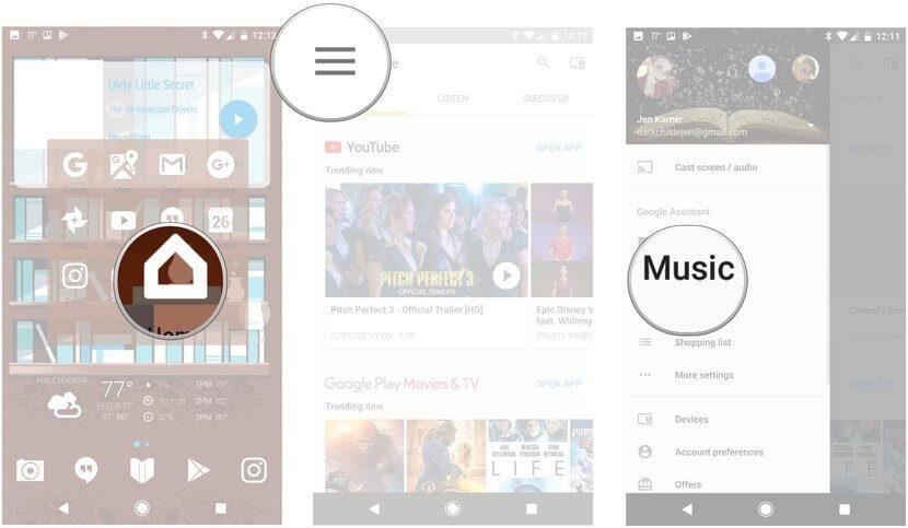 Hướng dẫn mở nhạc trên Google Home hình 1