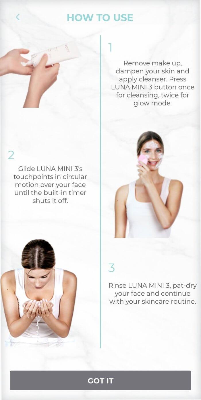 Review máy rửa mặt Foreo Luna Mini 3 3