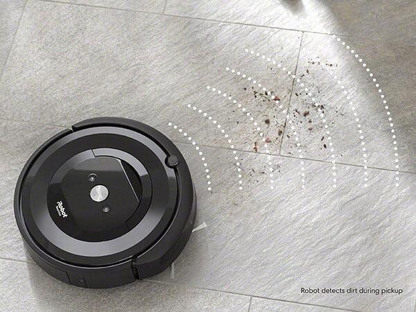 Cách hoạt động của máy hút bụi iRobot Roomba 6