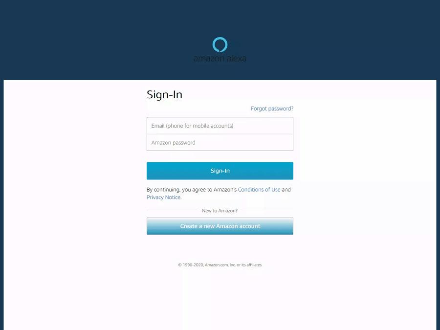 Cách kết nối Alexa trên máy tính 2