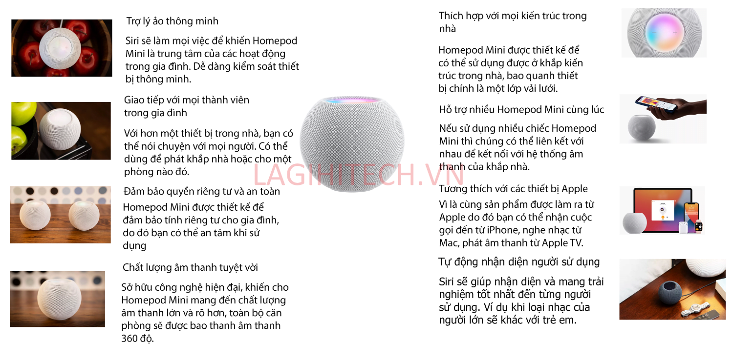 Infographic Apple Homepod Mini