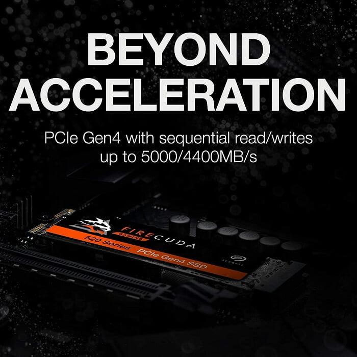 SSD Seagate Firecuda 520 2TB 5