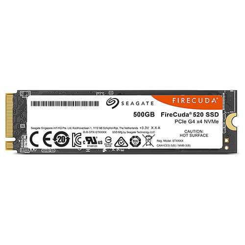SSD Seagate Firecuda 520 500GB 5