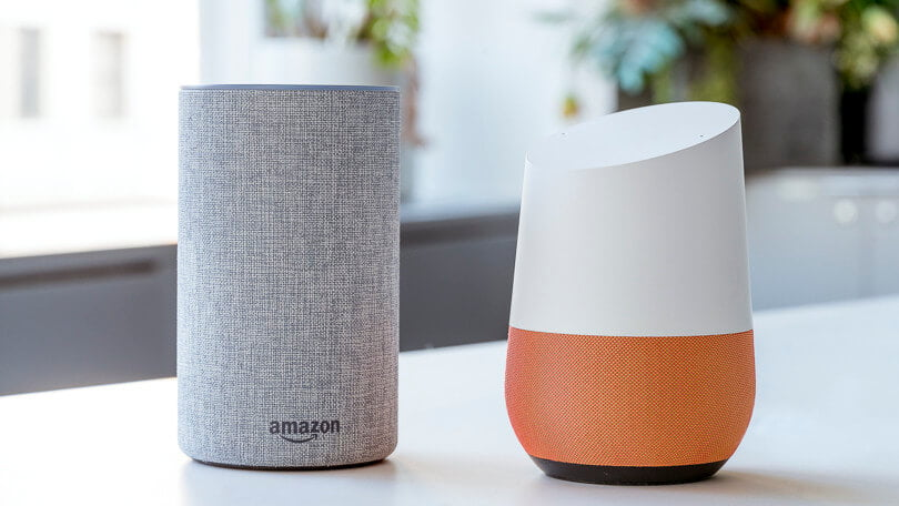 So sánh Amazon Echo với Google Home 1