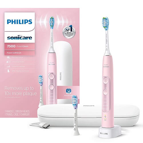 Bàn chải đánh răng điện ban chai danh rang dien Philips Sonicare ExpertClean 7500 2