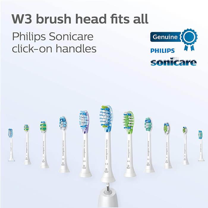 Đầu bàn chải điện Philips Sonicare W3 Premium 6