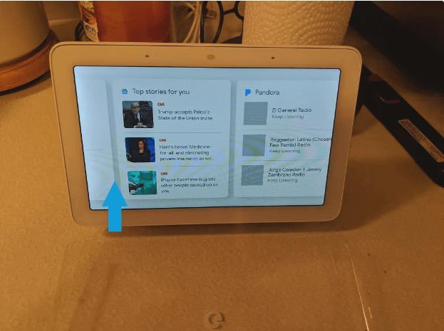 Tính năng ẩn có trong Google Home Hub 1