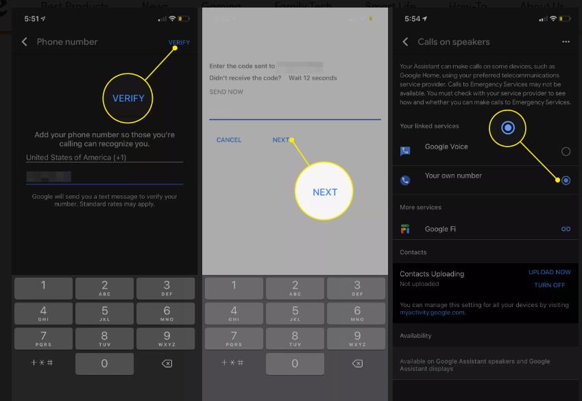Cách thực hiện cuộc gọi với Google Home 5
