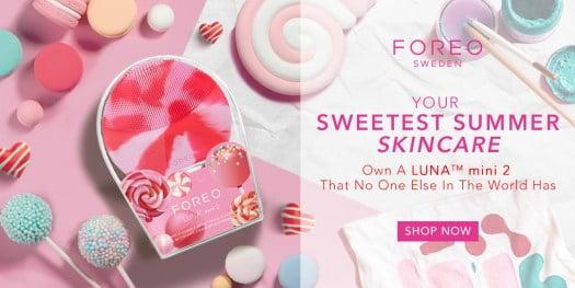 Máy rửa mặt Foreo Luna Mini 2 Lollipop pink 6