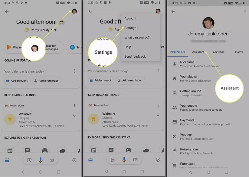 Sửa lỗi không đổi được ngôn ngữ Google Assistant 4