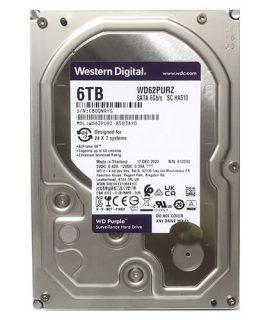 HDD WD Purple 6TB 3.5 inch SATA iii WD62PURZ 6