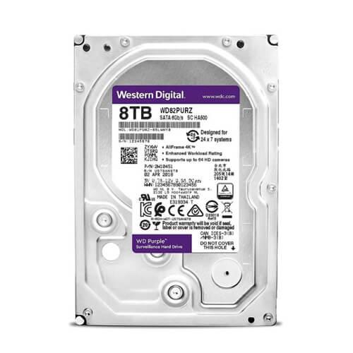 HDD WD Purple 8TB 3.5 inch SATA iii WD82PURZ 1
