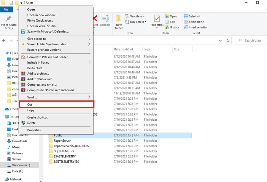 Cách sửa lỗi ổ đĩa C bị đầy hình 10