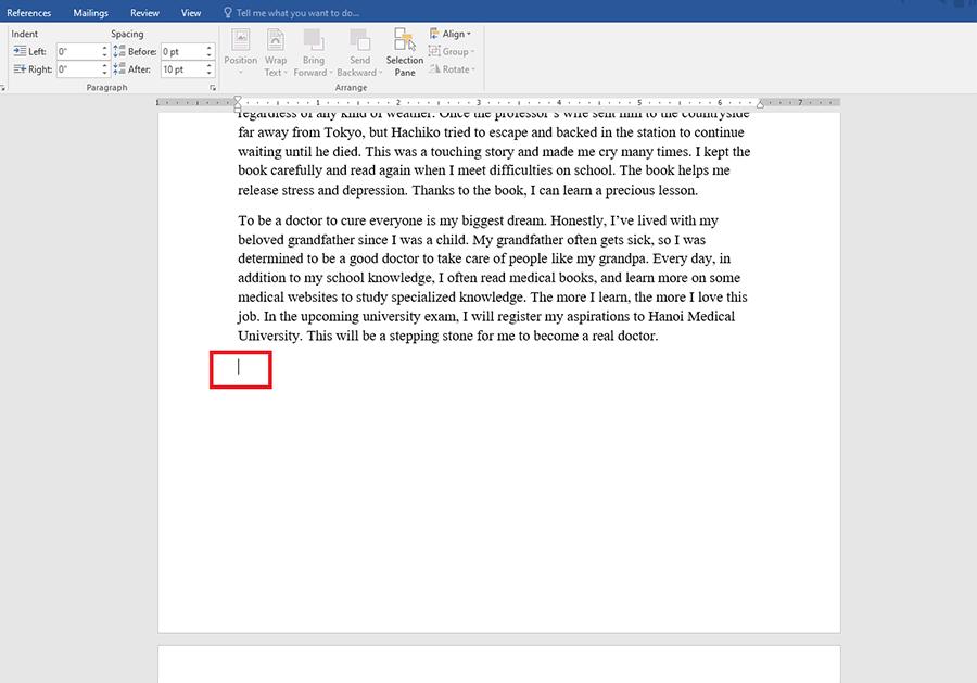 Hướng dẫn xóa trang trong Word chi tiết hình 1