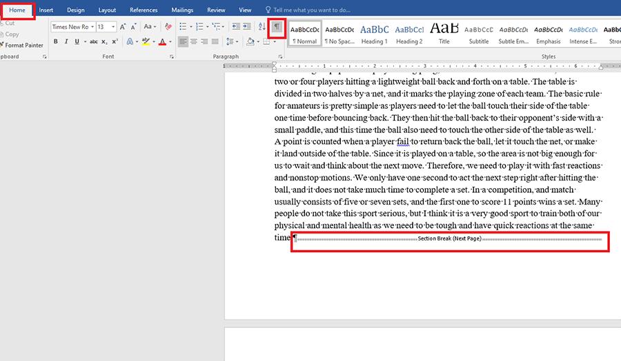 Hướng dẫn xóa trang trong Word chi tiết hình 5
