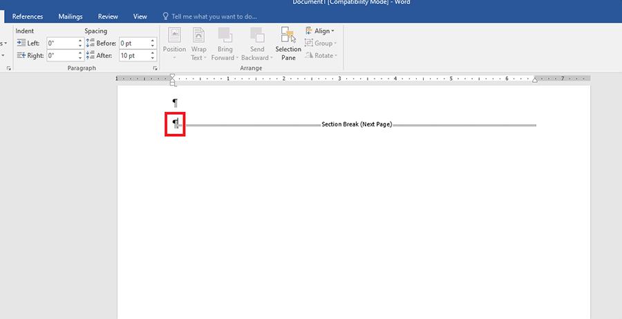 Hướng dẫn xóa trang trong Word chi tiết hình 6