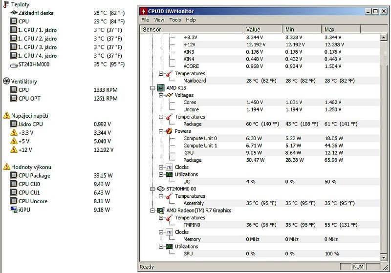 Top phần mềm đo nhiệt độ CPU tốt nhất 5