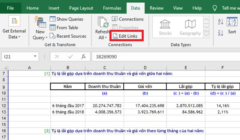 Hướng dẫn cách giảm dung lượng file Excel hình 4